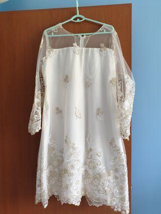 Baju nikah / tunang plus size