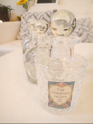 玻璃瓶子4個不同款一套