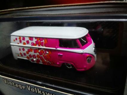 🚚 收藏 絕版 風火輪 罕見開上蓋 100% 膠胎 鐵底 HOTWHEELS VINTAGE VW Microbus 福斯