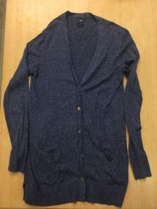 長版毛線外套
