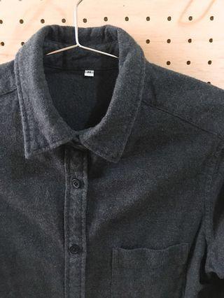 🚚 無印良品muji法蘭絨襯衫