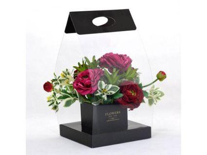 Flowers in carry box