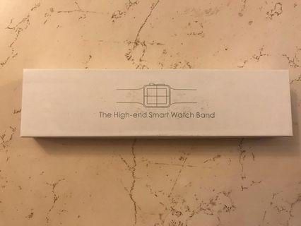 Apple smart watch leather straps