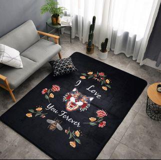 #MRTYishun Flowers Design Carpet