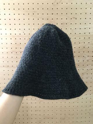 🚚 鐘型毛帽 可折疊收包包