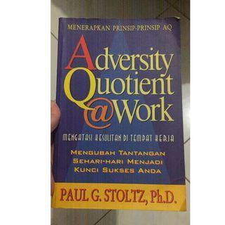 [SALE] Buku Adversity Quotient at Work - Paul G. Stoltz, Ph.D.