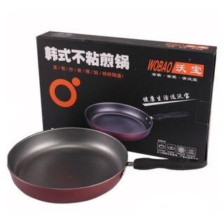 (PO) Ceramic Fry Pan 26cm - can use for induction cooker