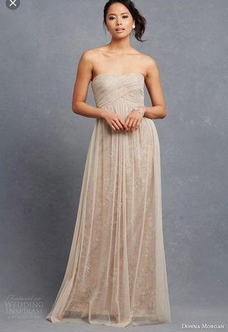 DONNA MORGAN gown/prom dress