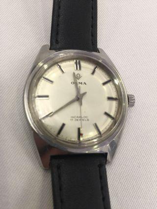 Olma 奧爾瑪5,60年代古董錶