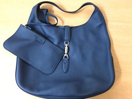 Gucci Jackie Soft Blue Large Hobo bag