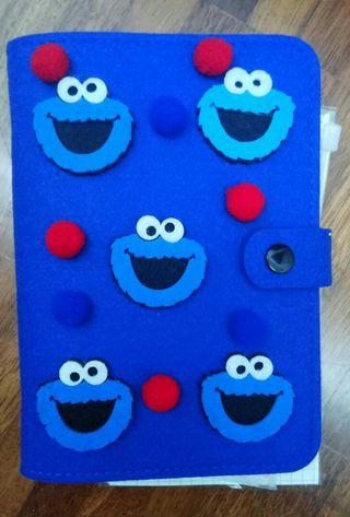ELMO Diary Book (BLUE)