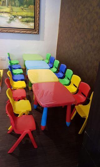 For Rent - Kids Tables & Chairs