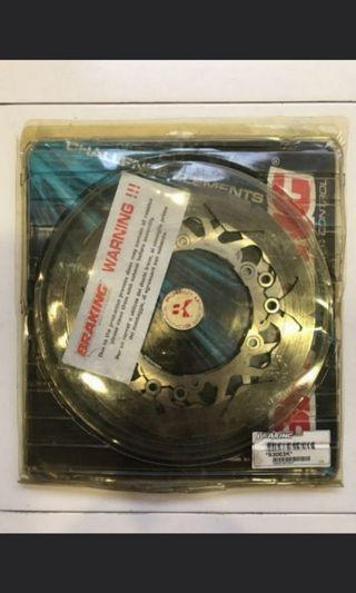 Twin Front Brake Discs for Yamaha TMAX 500