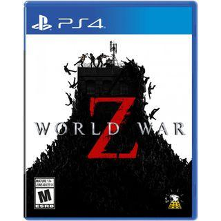 NEW PS4 World War Z (US) - up to 4 players zombies