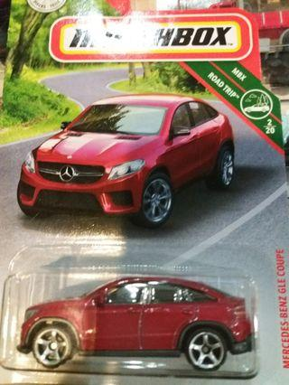 Matchbox Mercedes Benz GLE coupe