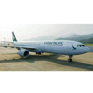 國泰航空香港台北來回特價機票 Cathay Pacific HKG-TPE roundtrip discounted tickets