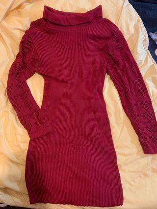 🚚 修身針織洋裝 很顯瘦