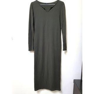 🚚 [售/換] pazzo 墨綠長版合身洋裝