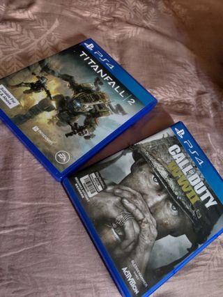Ps4 Games: FPS Bundle (Titanfall 2,  Call of Duty WWII)