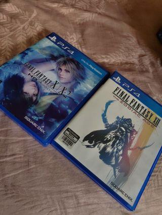 PS4 Game (RPG Bundle): Final Fantasy X|X2 and Final Fantasy XII