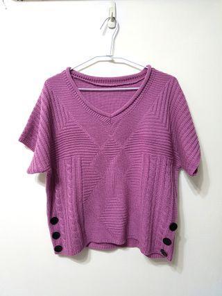 🚚 [售/換] 粉紫針織毛衣