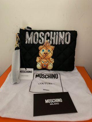 Moschino Clutch bag small size 全新正貨