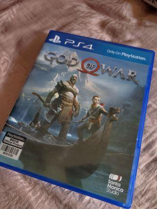 PS4 Game God Of War
