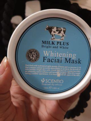 Facial mask/masker wajah/whitening mask