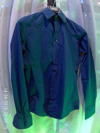 Zara Man Navy blue Saiz S Ultra slim fit