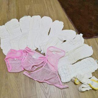 Bundle of cloth diapers
