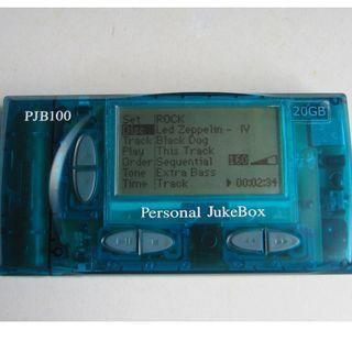 中古,PERSONAL JUKE BOX PJB-100,MADE IN KOREA by HANGO,20GB