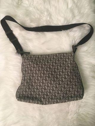 Authentic Dior monogram crossbody/shoulder bag