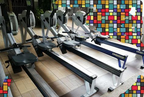 gym concept 2 rower used