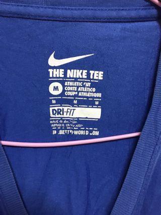 🚚 Nike 寶藍運動t