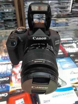 NEW Camera Canon EOS 2000D LENS 18 - 55mm IS II Kit