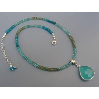 Mint Green Apatite Necklace