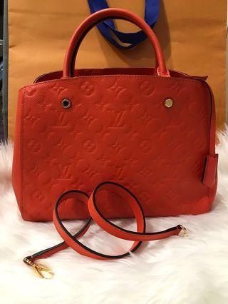 Louis Vuitton Montaigne MM in Empriente Leather