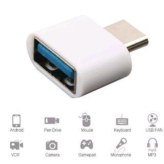USB C OTG Adapter Type-C to USB-A converter for smartphone