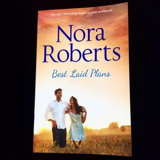 Best Laid Plans by Nora Roberts (romance novel book)