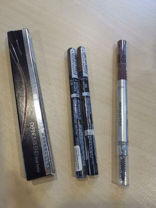 L'Oréal and Maybelline Eyes Brow