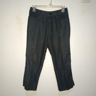 Celana bahan (high waist)