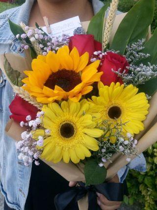 Flower Bouquet Murah