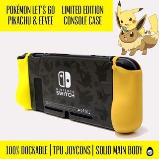 Nintendo switch let's go pikachu case Nintendo switch case Nintendo switch protector