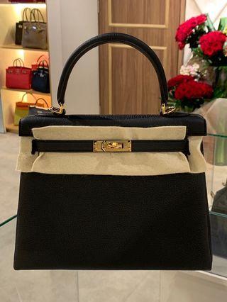 d326dd401c92 Brand New Fresh From Store! K25 Black Togo GHW