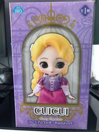 日版 SEGA CUICUI Disney Characters - Rapunzel 長髮主公