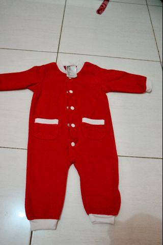 Sleepsuit red h&m
