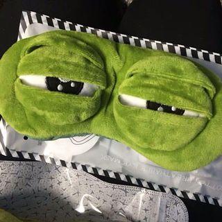 Sad frog 🐸 青蛙眼罩 連冰袋 預訂包本地平郵