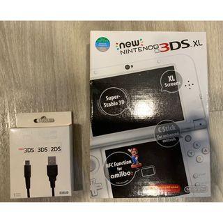 Nintendo 3DS XL (White)