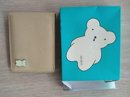 🚚 Qq bear light brown wallet