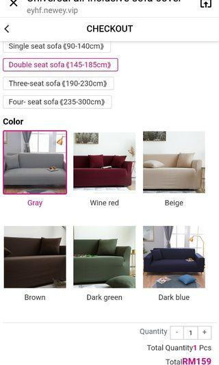 Sofa cover...NEW